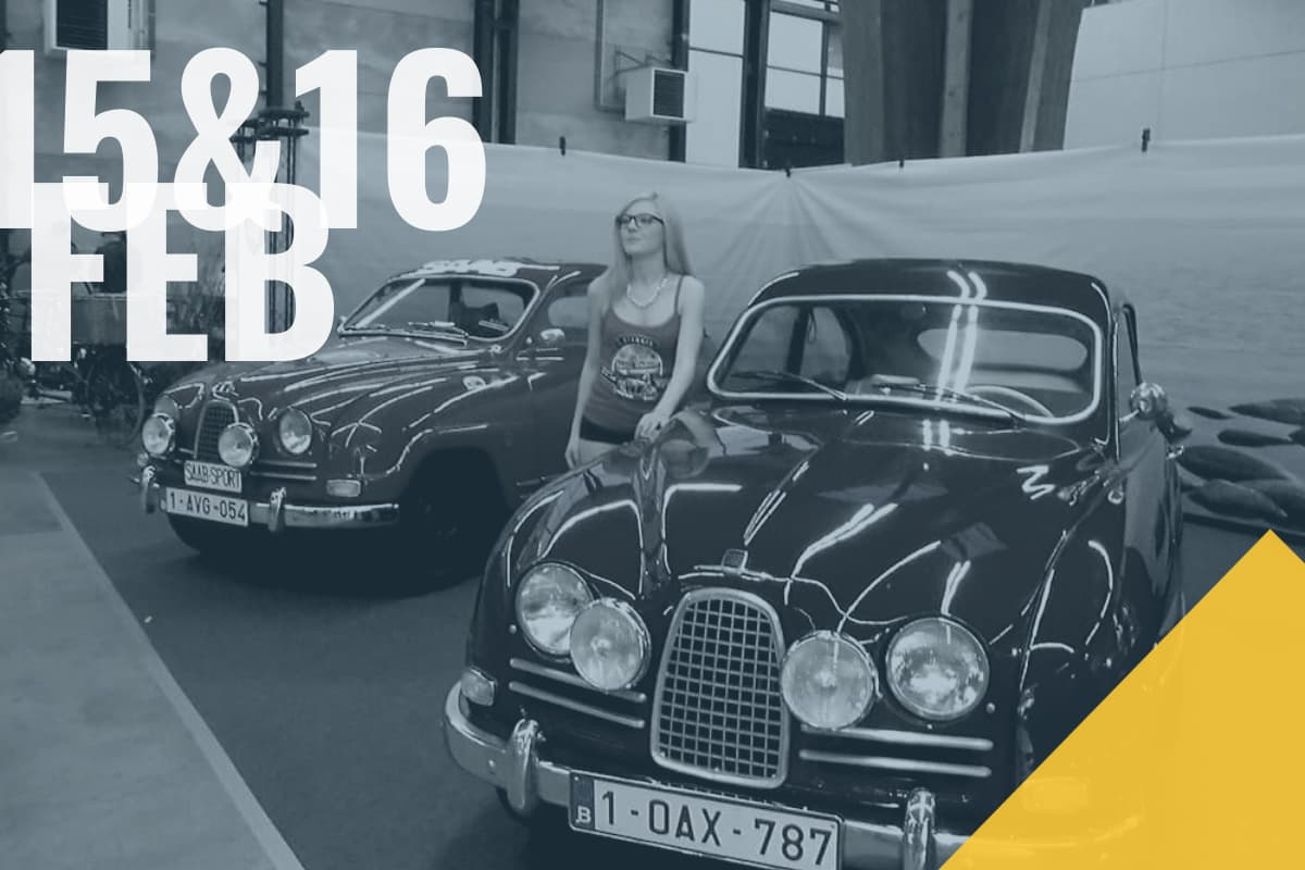 Saab Club Belgium op Flanders Collection Cars Gent 2020