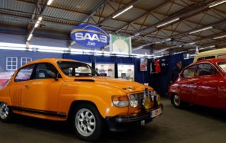Saab Club op Flanders Collection Cars Gent
